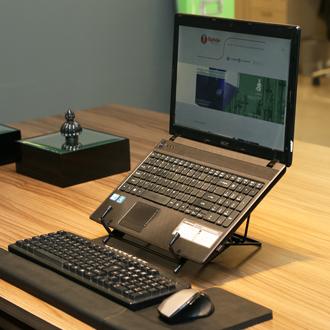 Apoio Do Notebook Sn 1263 Digitador Ergonomics