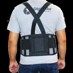 Cinturão abdominal lombar Telado Digitador C 636