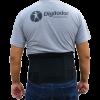 Cinturão ergonômico abdominal lombar Advance Suport Digitador C 521