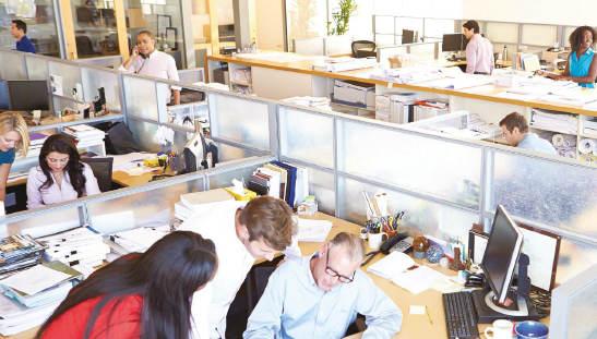 Segurança e saúde em escritórios